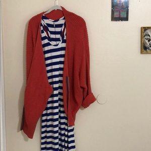 Dresses & Skirts - ‼️SALE‼️Racerback nautical body con maxi